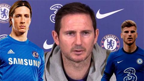 Lampard không cho rằng Werner sẽ giống Torres