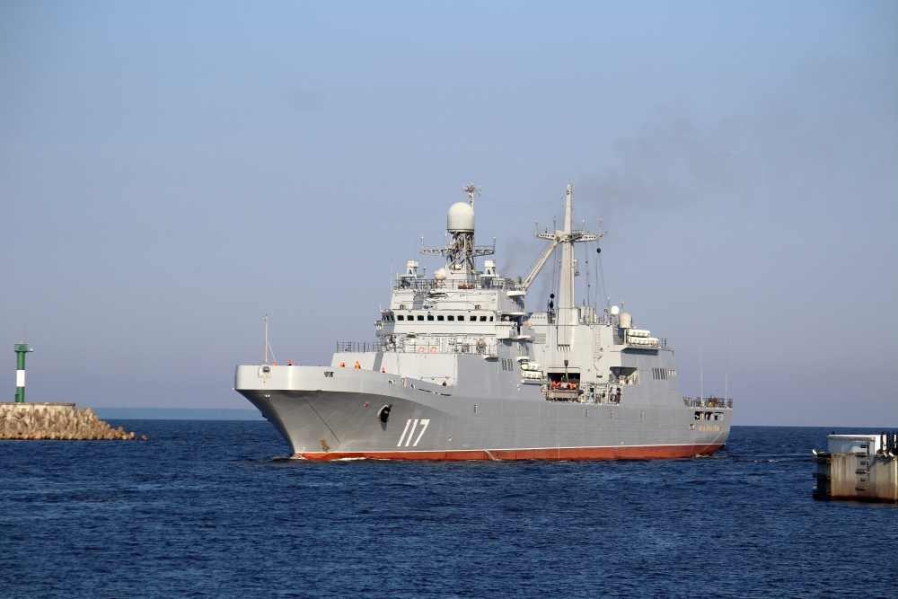 """Tàu đổ bộ cỡ lớn """"Petr Morgunov"""" chuẩn bị gia nhập Hạm đội Phương Bắc"""