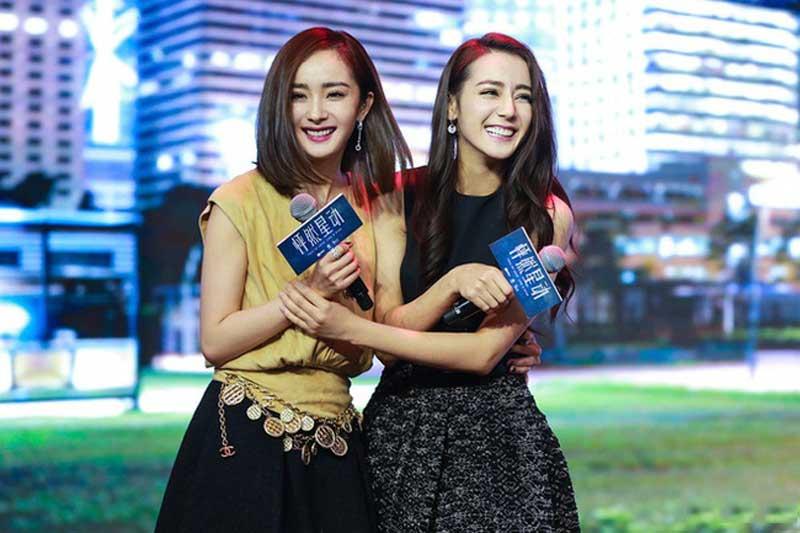 Những cặp chị em thân thiết đáng ngưỡng mộ nhất làng giải trí Hoa Ngữ: Không thể thiếu Dương Mịch - Địch Lệ Nhiệt Ba