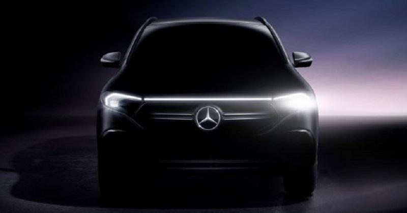 Mercedes-Benz EQA sẽ ra mắt ngày 20/1, phạm vi chạy điện lên tới 401 km, pin 66 kWh