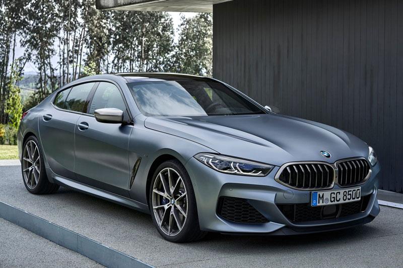 BMW 8 Series Gran Coupe.