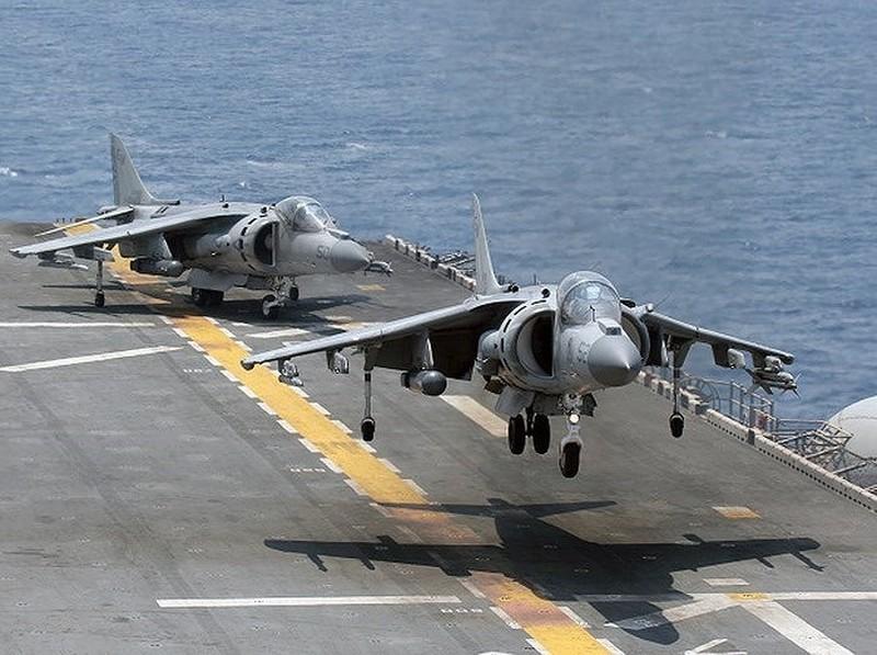 Máy bay chiến đấu AV-8B Harrier của Thủy quân lục chiến Mỹ. Ảnh: Bae Systems.