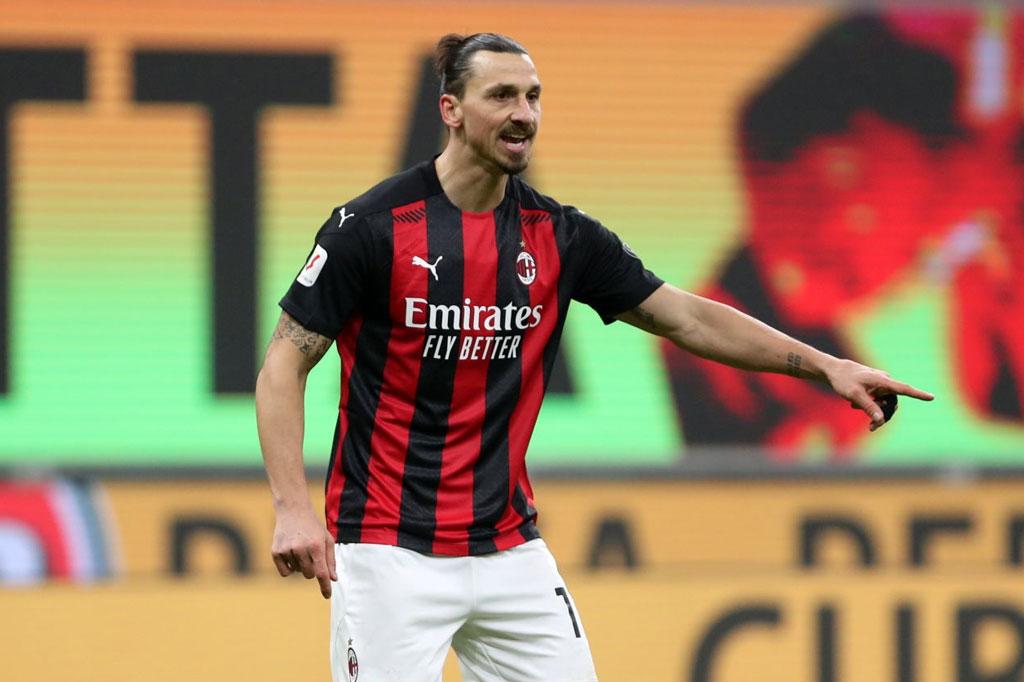 7. Zlatan Ibrahimovic.