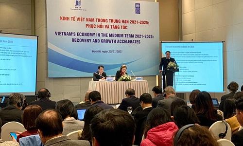 Năm 2021 tăng trưởng kinh tế Việt Nam có thể đạt từ 6,17% tới 6,72%