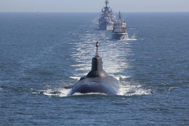 Tàu ngầm hạt nhân