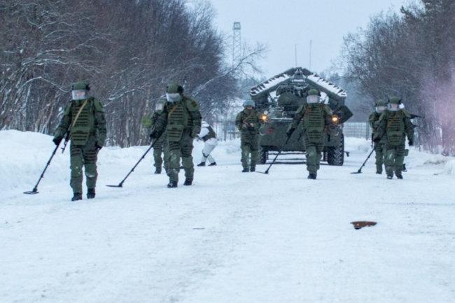 Lực lượng Công binh Nga đang được hiện đại hóa mạnh mẽ. Ảnh: TASS.