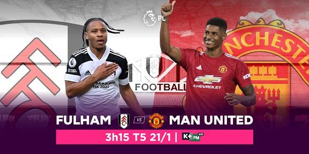 Manchester United vs. Fulham: Cơ hội để Quỷ đỏ giành lại ngôi đầu bảng, trực tiếp trên VTVcab ON