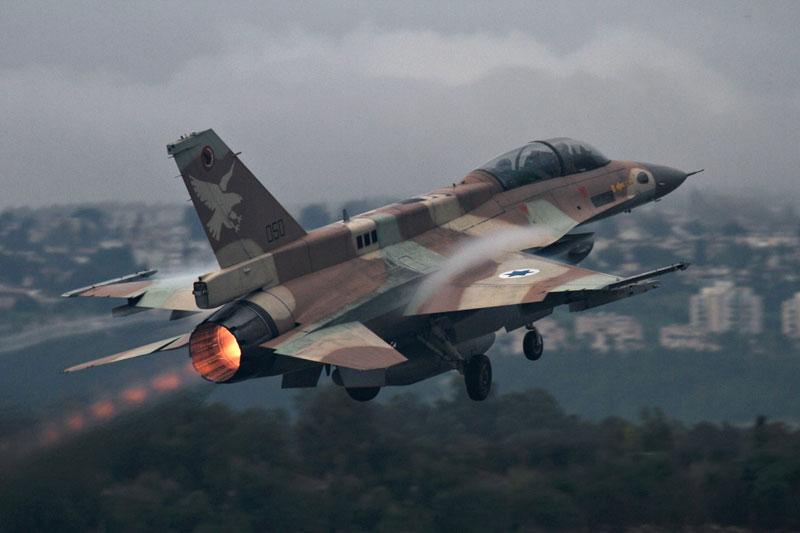 Chiến đấu cơ F-16 của Không quân Israel.