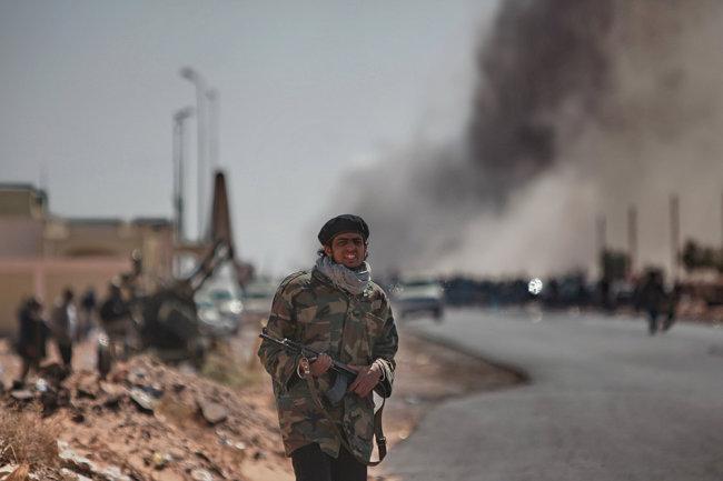 Hiện chưa rõ chiếc UAV nào đã bị bắn rơi tại chiến trường Libya. Ảnh: TASS.