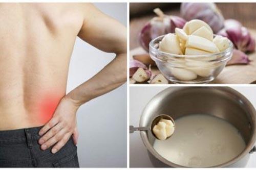 Công thức chữa đau lưng với tỏi không phải ai cũng biết