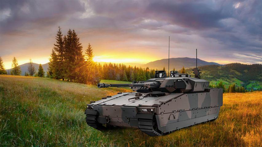 Xe chiến đấu bộ binh CV9035NL sẽ có sức mạnh vượt trội sau nâng cấp. Ảnh: Janes Defense.