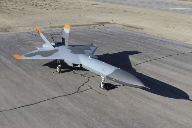 Bia bay 5GAT được sử dụng để mô phỏng tiêm kích tàng hình thế hệ năm của đối phương. Ảnh: Janes Defense.