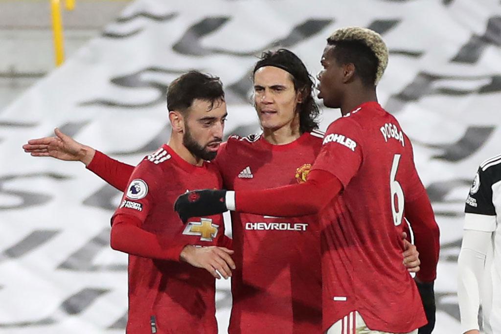 Man Utd trở lại ngôi đầu.