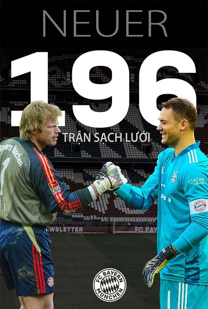 Neuer đã cân bằng kỷ lục của tiền bối Kahn