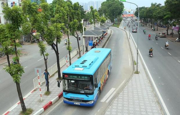 Hà Nội điều chỉnh lộ trình 19 tuyến xe buýt để phục vụ Đại hội Đảng XIII