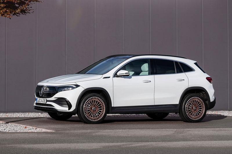 Mercedes-Benz EQA 2021 ra mắt: Công suất 187 mã lực, giá gần 1,1 tỷ đồng