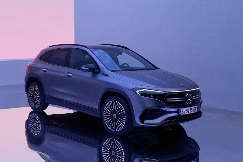 Mercedes-Benz EQA 2021.