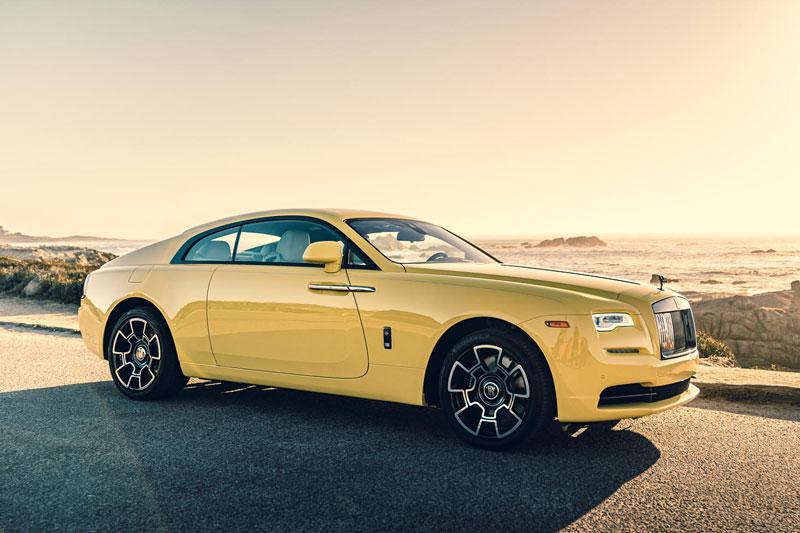 1. Rolls-Royce Wraith (giá khởi điểm: 330.000 USD)