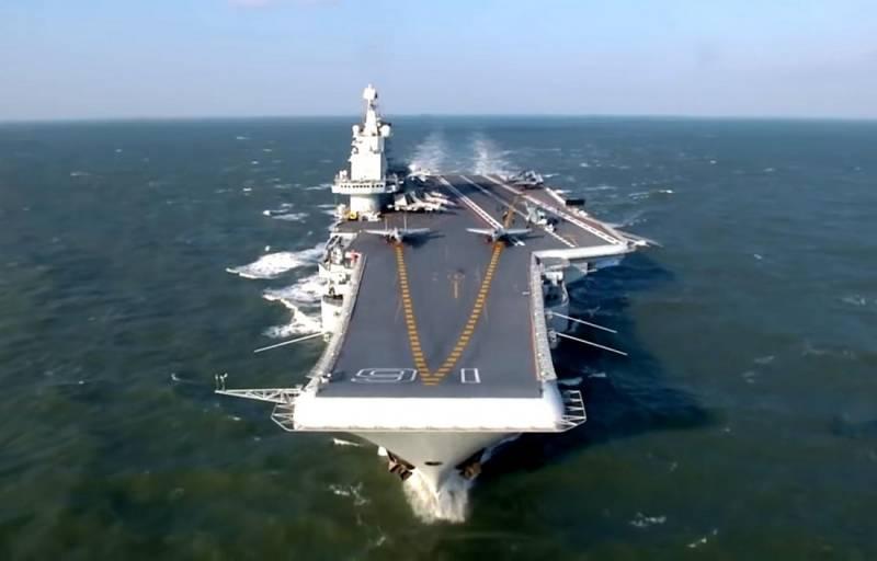 Tàu sân bay Liêu Ninh của Hải quân Trung Quốc. Ảnh: Topwar.