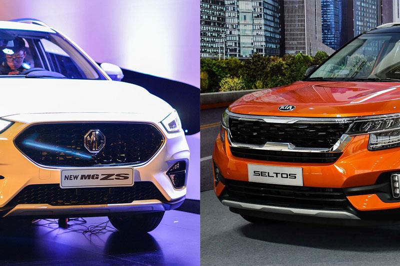 So sánh MG ZS 2021 với Kia Seltos, chọn SUV đô thị nào?
