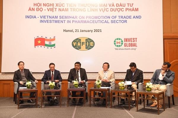 Việt Nam - Ấn Độ: Tiềm năng rất lớn trong hợp tác và đầu tư ngành dược phẩm