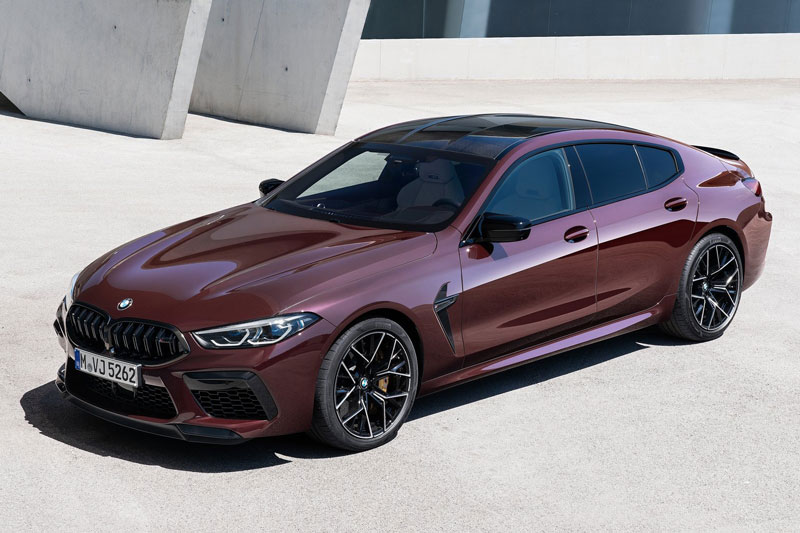 7. BMW M8 Competition Gran Coupe 2021 (giá khởi điểm: 143.000 USD).