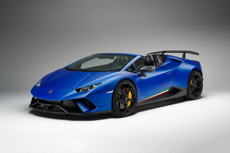 8. Lamborghini Huracan Performante Spyder (giá khởi điểm: 308.859 USD).