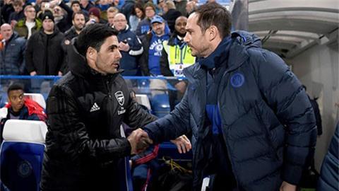 Arteta: 'Hãy kiên nhẫn, Lampard sẽ đền đáp Chelsea'