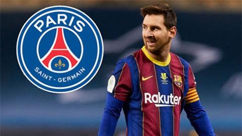 Barca nổi điên vì PSG công khai ve vãn Messi