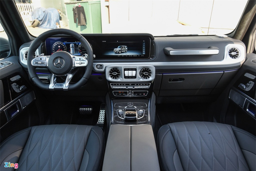 Chi tiet Mercedes-AMG G63 Stronger Than Time gia 12 ty tai Viet Nam anh 11