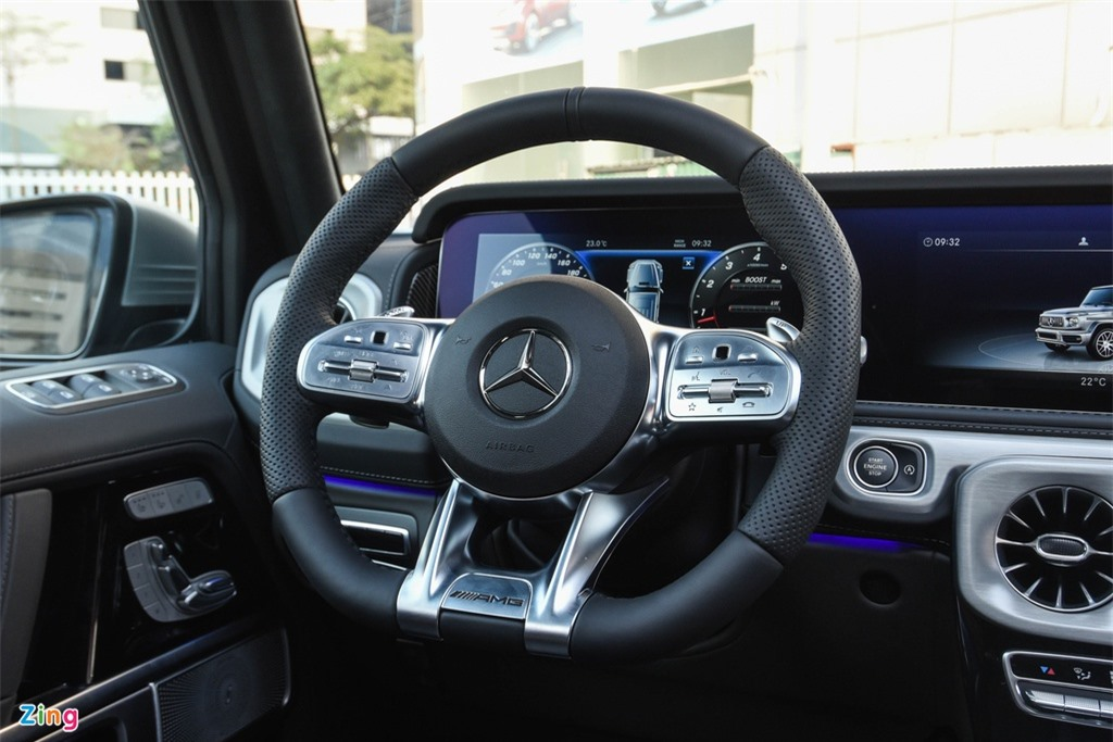 Chi tiet Mercedes-AMG G63 Stronger Than Time gia 12 ty tai Viet Nam anh 12