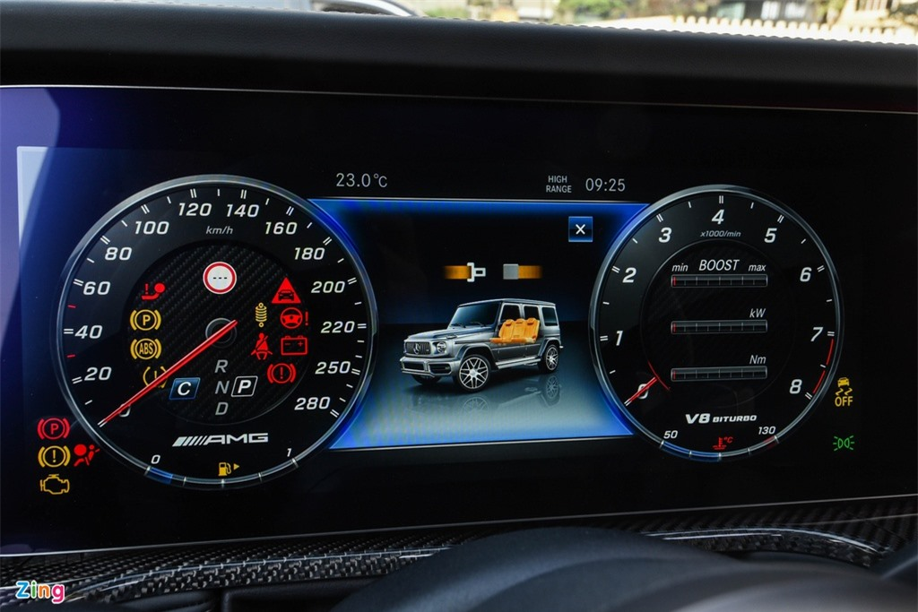 Chi tiet Mercedes-AMG G63 Stronger Than Time gia 12 ty tai Viet Nam anh 17