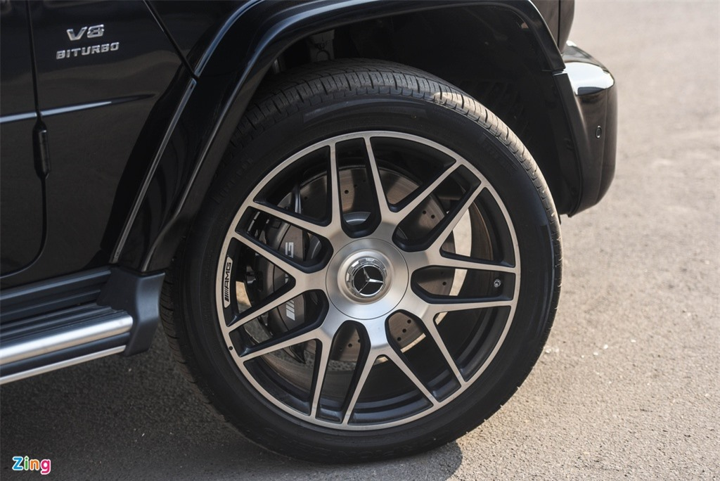 Chi tiet Mercedes-AMG G63 Stronger Than Time gia 12 ty tai Viet Nam anh 5