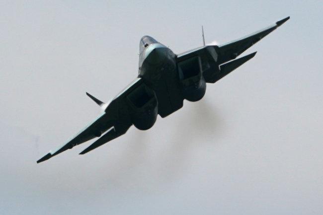 Tiêm kích tàng hình Su-57 của Nga. Ảnh: National Interest