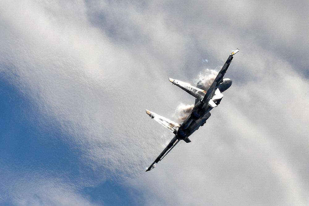 Tiêm kích đa năng MiG-35 của Nga. Ảnh: TASS.