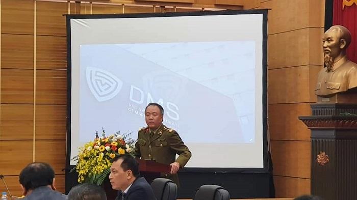 Tổng Cục trưởng Trần Hữu Linh phát biểu tại Hội nghị tổng kết.