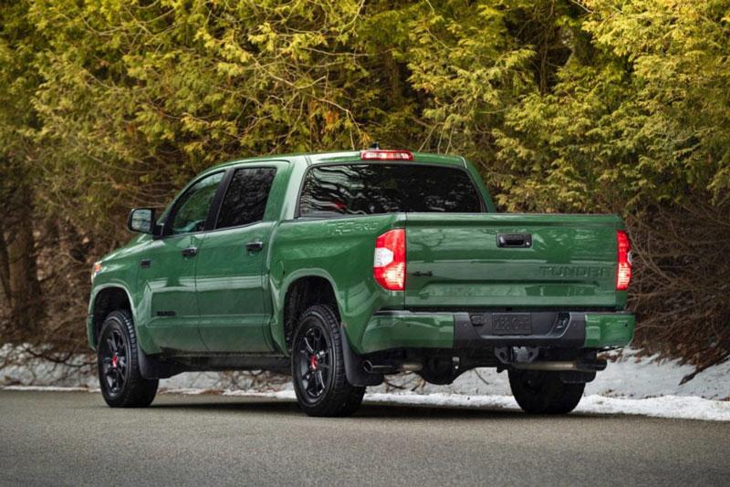 10. Toyota Tundra (sức kéo tối đa: 4.627 kg).