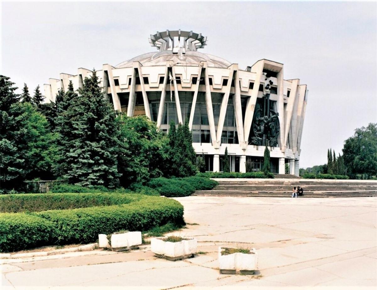Rạp xiếc Quốc gia Chisinau, Kishinev, Moldova.