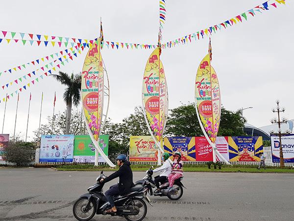 Đà Nẵng: Hội chợ Xuân 2021 thu hút hơn 200 doanh nghiệp tham gia
