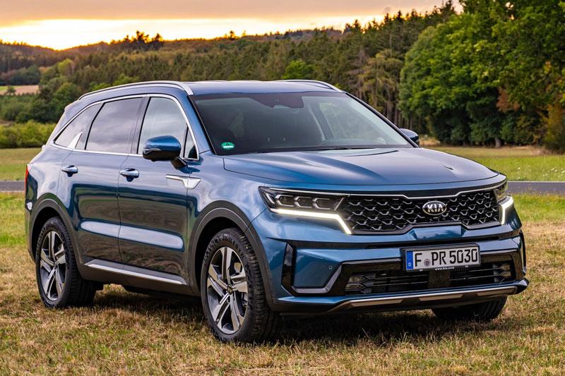Kia Sorento được bầu chọn là chiếc SUV của năm 2021