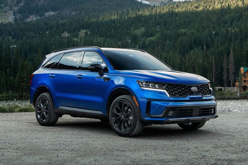 Top 10 xe SUV cỡ trung 3 hàng ghế tốt nhất năm 2021: Kia Sorento góp mặt