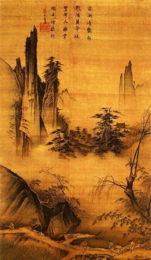 Bức họa quý 800 năm trong Tử Cấm Thành: Phóng to 50 lần góc bên phải, chuyên gia trầm trồ trước ẩn ý của tác giả - Ảnh 1.
