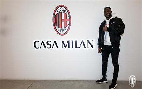 Tomori chính thức cập bến AC Milan