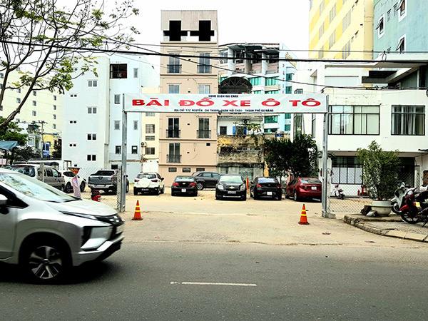 Tại khu đất 172 Nguyễn Chí Thanh sẽ xây dựng bãi đỗ xe thông minh với vốn đầu tư hơn 71,4 tỉ đồng từ nguồn ngân sách TP Đà Nẵng
