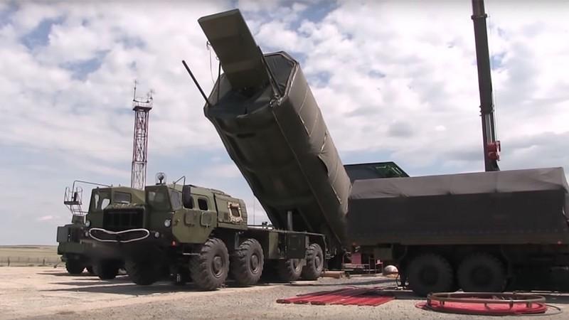 Tổ hợp tên lửa đạn đạo xuyên lục địa siêu thanh Avangard của Nga. Ảnh: Sina.
