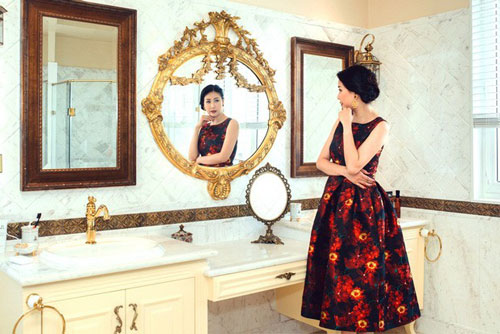 Choáng ngợp trước cơ ngơi cực 'khủng' của Hoa Hậu Hà Kiều Anh