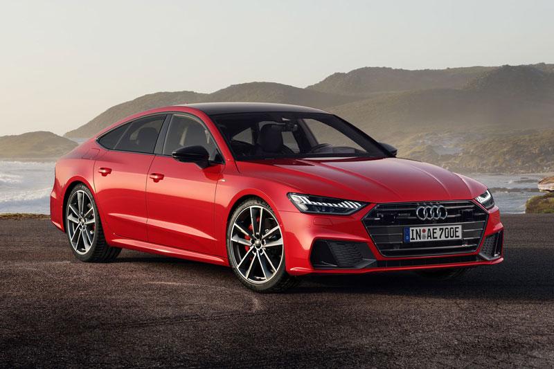 3. Audi A7 2021 (giá khởi điểm: 70.245 USD).