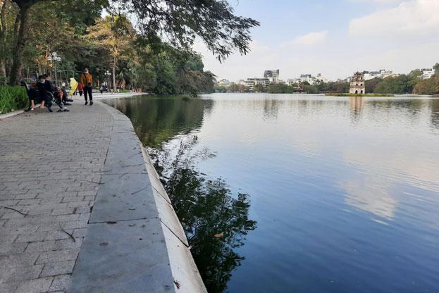 Công trình ''Kè bảo vệ bờ hồ Hoàn Kiếm'': Công nghệ, thương hiệu và trí tuệ Việt