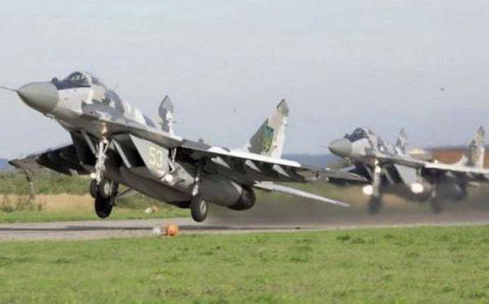 Tiêm kích MiG-29 của Không quân Ukraine.