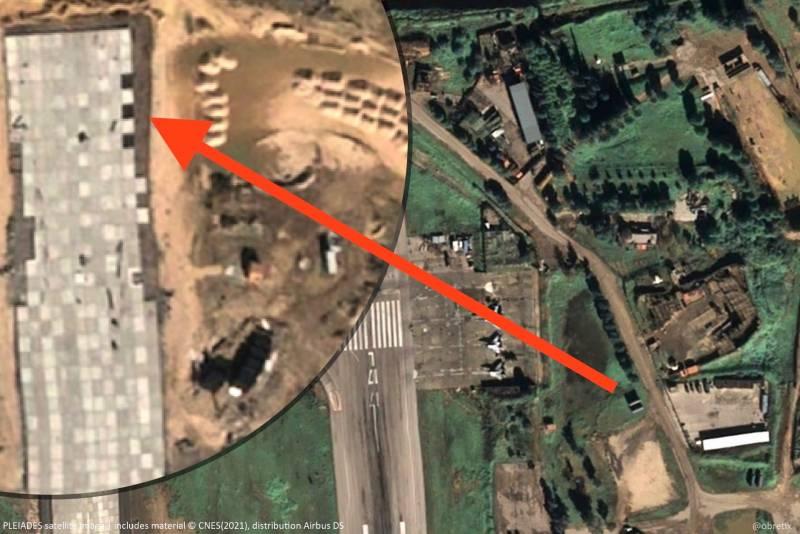 Nga đang mở rộng đường băng tại căn cứ không quân Hmeimim. Ảnh: Al Masdar News.